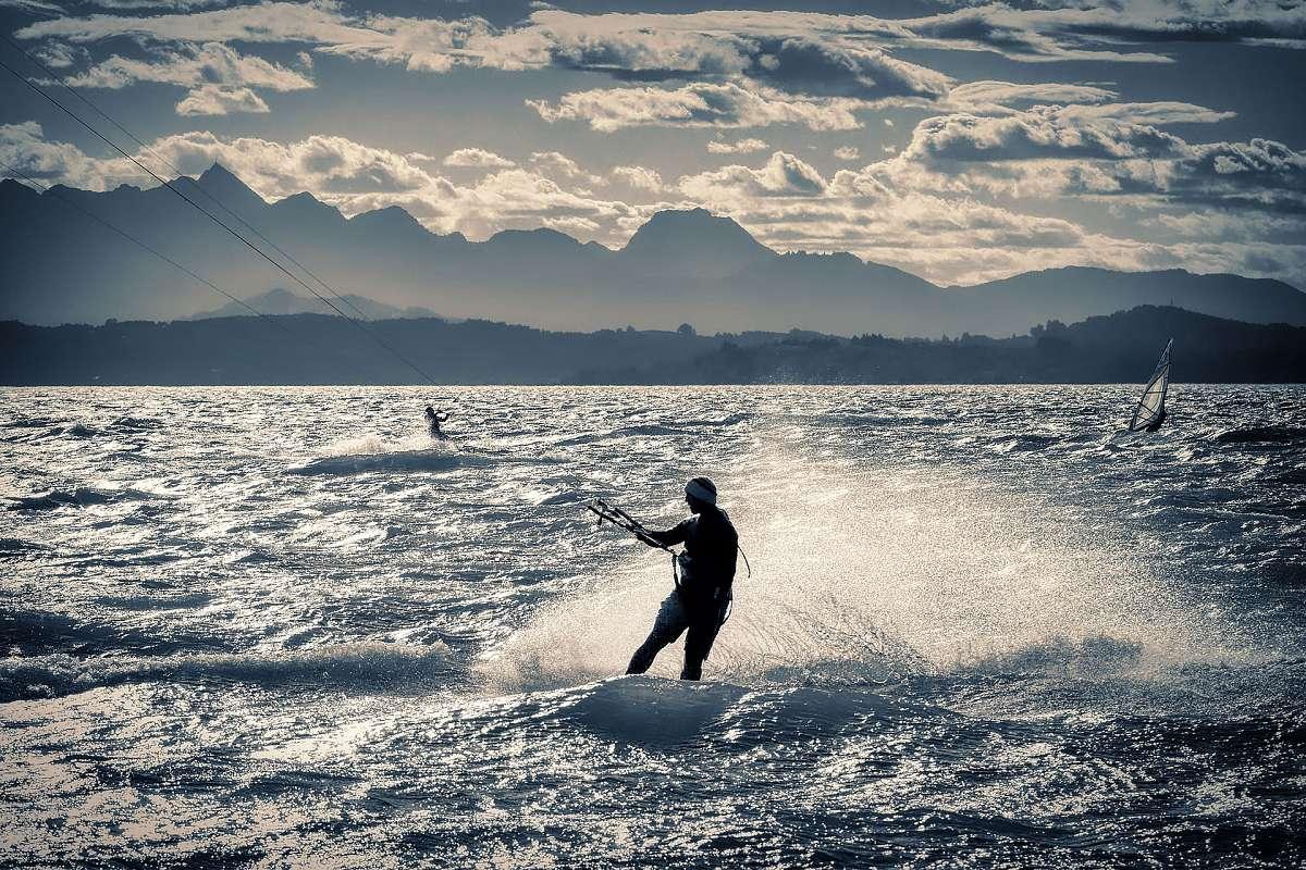 Kitesurfing Chiemsee